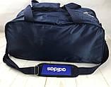 Качественная дорожная, спортивная сумка Adidas с отделом для обуви КСС58-2, фото 7