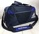 Качественная дорожная, спортивная сумка Adidas с отделом для обуви КСС58-2, фото 8