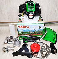 Бензокоса Тайга ТБТ-6100(2 ножа 1 катушка)