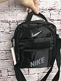 Спортивная сумка-барсетка через плечо Nike .Тканевая сумка. КС118, фото 4