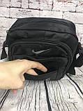 Спортивная сумка-барсетка через плечо Nike .Тканевая сумка. КС118, фото 5