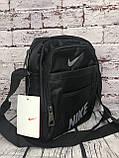 Спортивная сумка-барсетка через плечо Nike .Тканевая сумка. КС118, фото 7