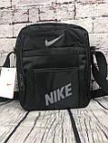 Спортивная сумка-барсетка через плечо Nike .Тканевая сумка. КС118, фото 8