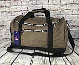 Спортивная сумка Reebok. Дорожная сумка. Раз. 49*27*23см КСС16-1, фото 4