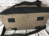 Спортивная сумка Reebok. Дорожная сумка. Раз. 49*27*23см КСС16-1, фото 6