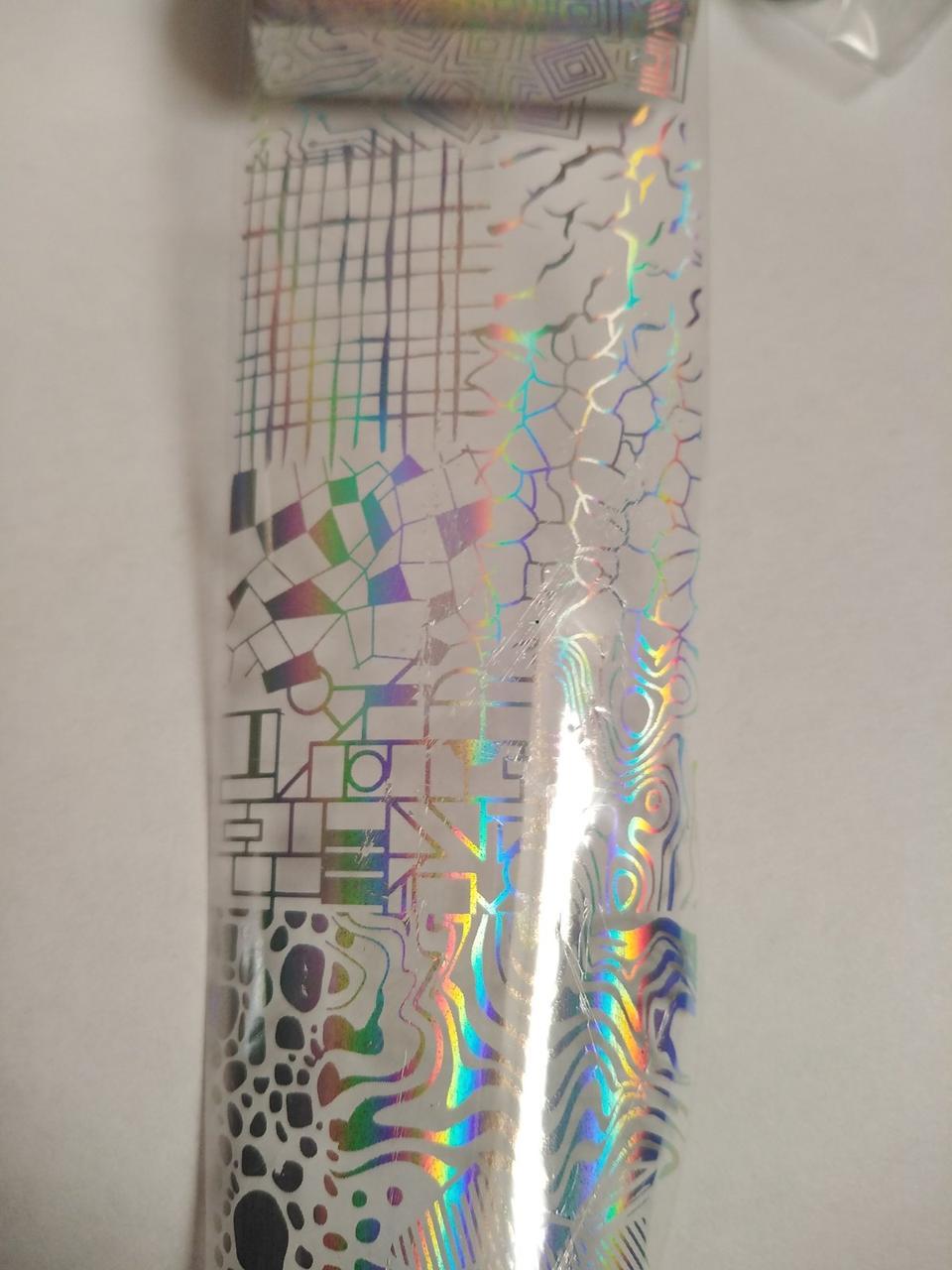 Фольга переводная для литья и дизайна 100 см