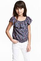 Блуза HM 140см Темно-синий 4795565, КОД: 1604557