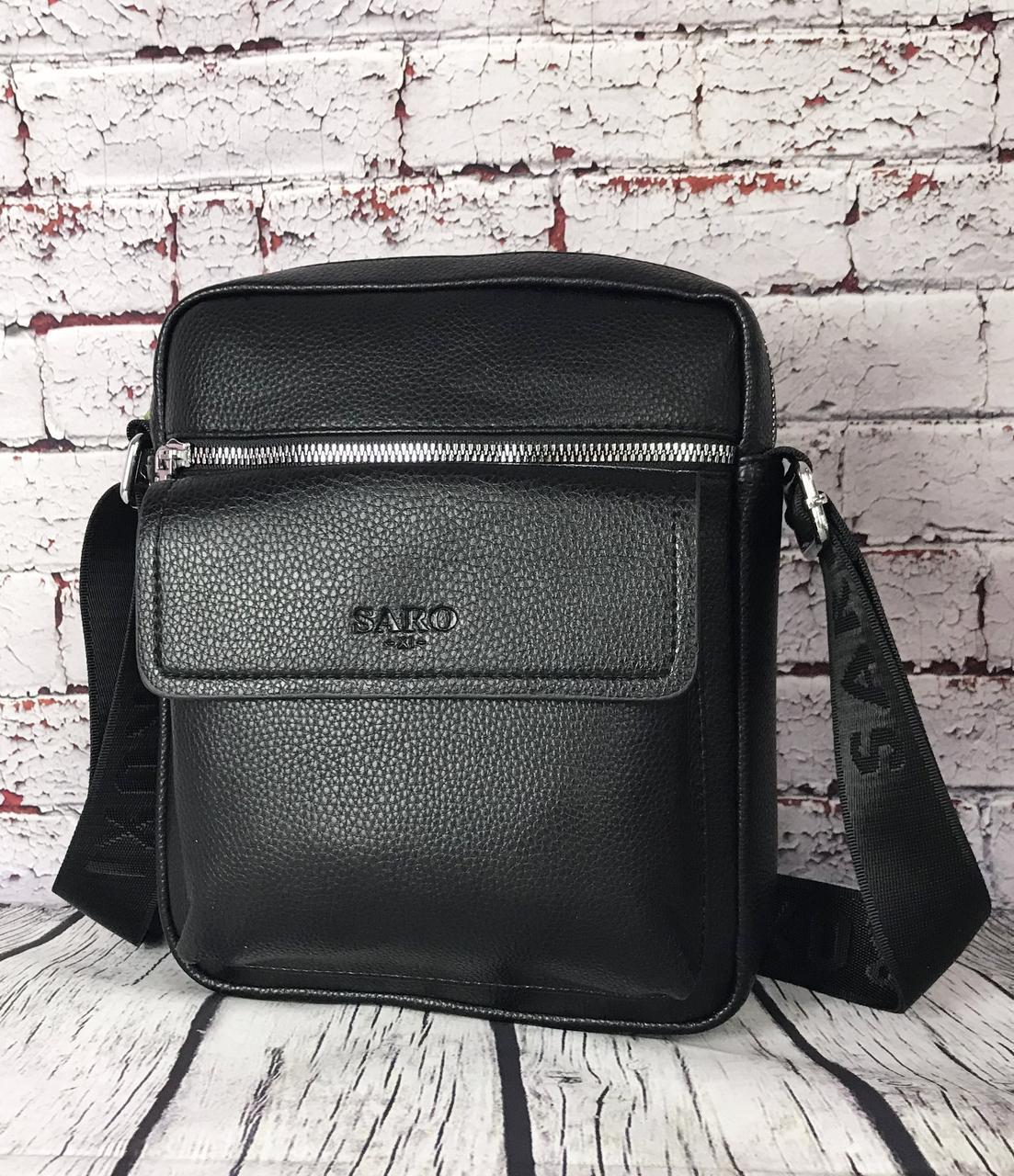 Мужская сумка - планшет.  Барсетка мужская через плечо.  КС33