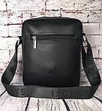 Мужская сумка - планшет.  Барсетка мужская через плечо.  КС33, фото 2