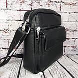 Мужская сумка - планшет.  Барсетка мужская через плечо.  КС33, фото 5