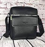 Мужская сумка - планшет.  Барсетка мужская через плечо.  КС33, фото 6
