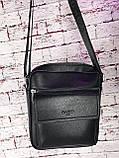 Мужская сумка - планшет.  Барсетка мужская через плечо.  КС33, фото 8