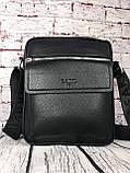 Мужская сумка - планшет.  Барсетка мужская через плечо.  КС33, фото 10