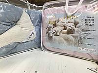 Одеяло меховое Zevs двухспалка 175х210
