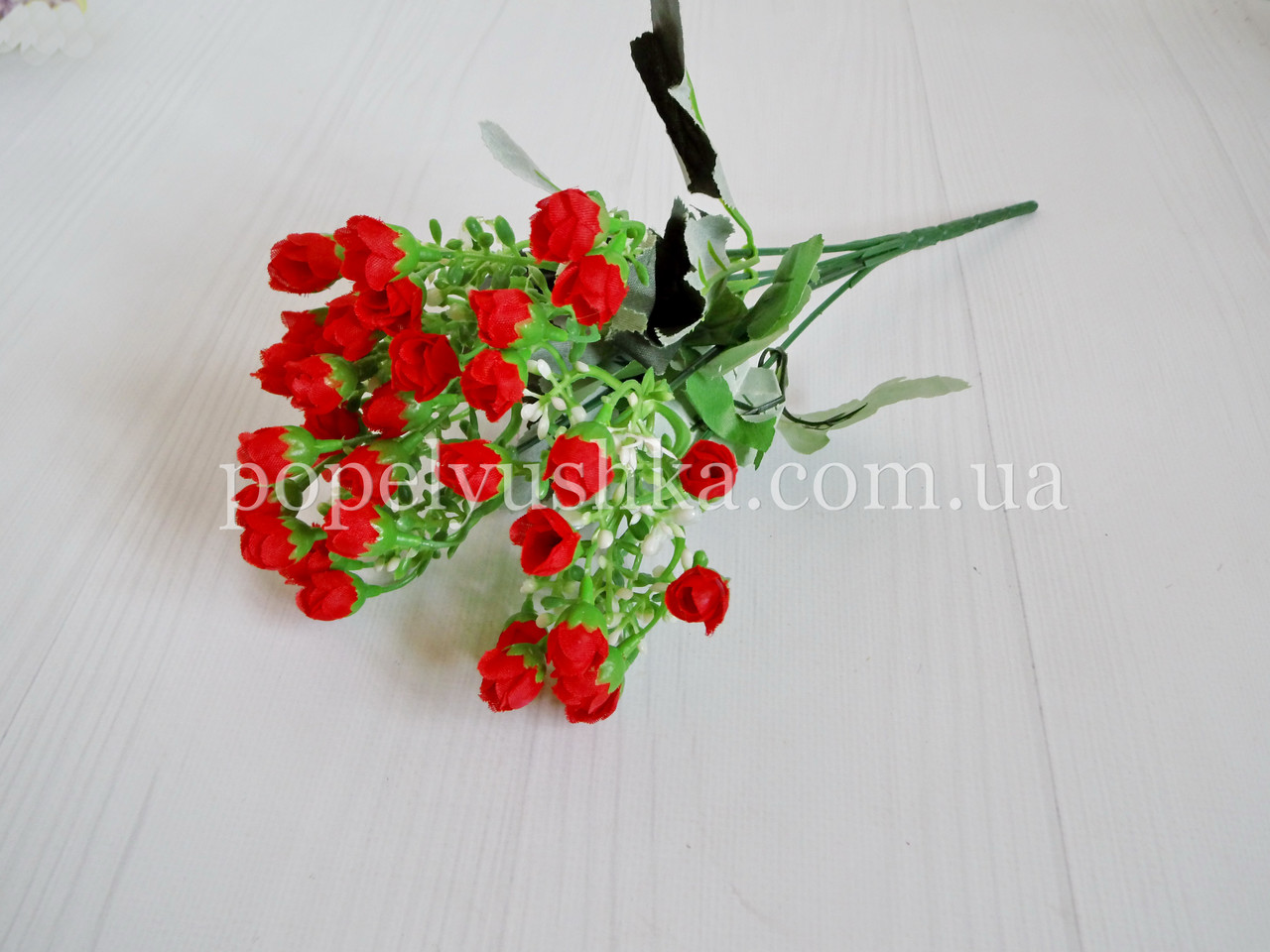 Букет мини розы красный