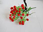 Букет мини розы красный, фото 2