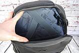Качественный мужской рюкзак Антивор и USB переходником для ноутбука. РК21-1, фото 7
