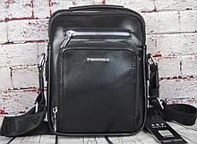 Мужская сумка с ручкой. Барсетка мужская через плечо Размер(в см) 24 на 19  КС14