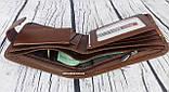 Мужской кошелек imperial horse кожа. Кожаный бумажник  в коробке. Кожаное портмоне Хорс. СКМ1, фото 2