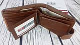 Мужской кошелек imperial horse кожа. Кожаный бумажник  в коробке. Кожаное портмоне Хорс. СКМ1, фото 5