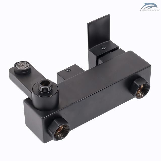 Смеситель для душевой колонны WEMI SB-01 с поворотным гусаком.