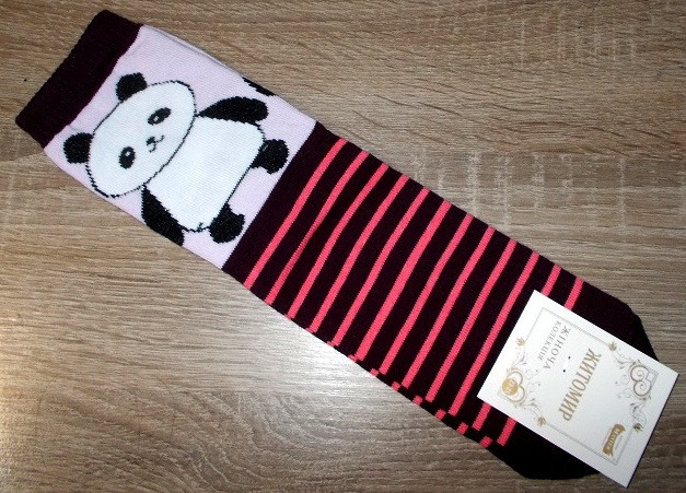 Носки женские панда размер 23-25
