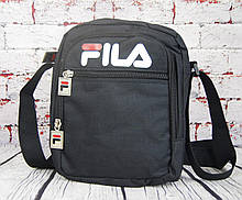 Спортивная сумка-барсетка через плечо Fila .Тканевая сумка. КС136
