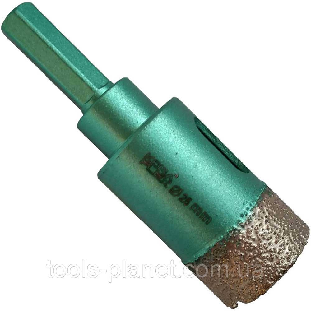 Алмазное сверло по плитке 25 мм Kona Flex Vacuum на дрель