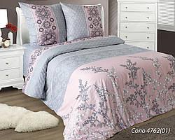 Комплект постельного белья семейный СОЛО ( нав. 70*70)