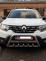 Защита переднего бампера (кенгурятник) Dacia Duster (2017+)