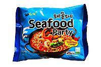 Лапша рамен быстрого приготовления со вкусом морепродуктов SAMYANG 120Г