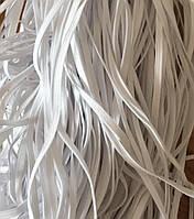 Резинка резаная плоская 6 мм белая для масок (100 м) наложенного платежа на Резинку нету .