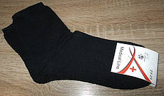 Носки медицинские (без резинки) на махре Medical Line размер 23-25 (наш 35-40) черные