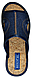 Комнатные тапочки женские Belsta Синие, фото 3
