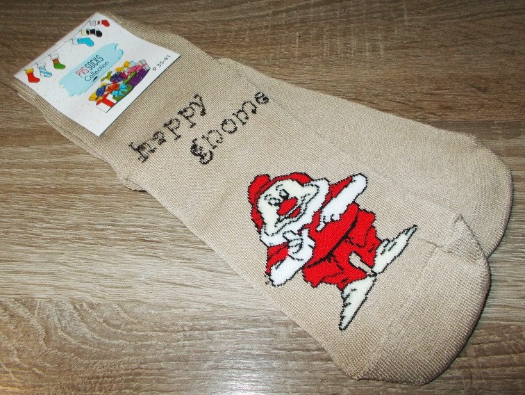 Носки махровые новогодние размер 35-41