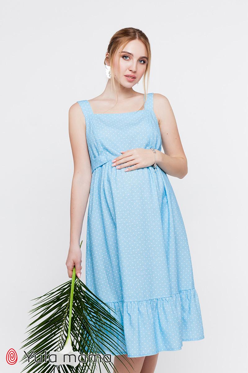 Сарафан миди для беременных и кормящих MEDDI SF-20.031