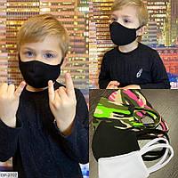 Многоразовая защитная детская маска!!! Ткань: трикотаж. Цена от 54 грн. (зависит от количества).