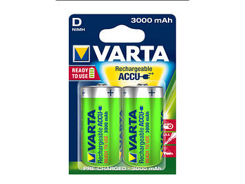 Акумулятори Varta R2U Ni-Mh (HR-20,3000 mAh)/блістер 2шт (10)