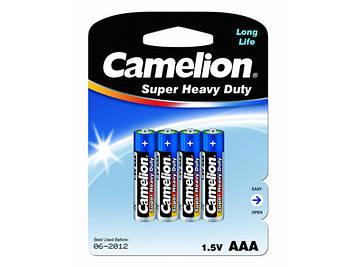 Батарейки Camelion blue R-03/блістер 4шт (12)(288)