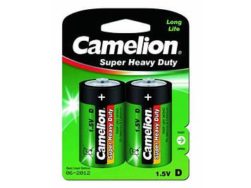 Батарейки Camelion blue R-20/блістер 2шт (6)(72)