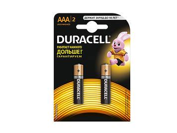 Батарейки Duracell LR-03/блістер 2шт (10)