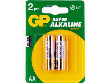 Батарейки GP Super GP24A-2UE2 LR-03/блістер 2шт (10)(80)