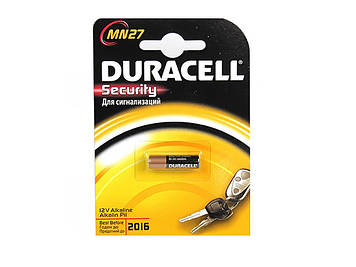 Батарейка Duracell LR-27A/1bl