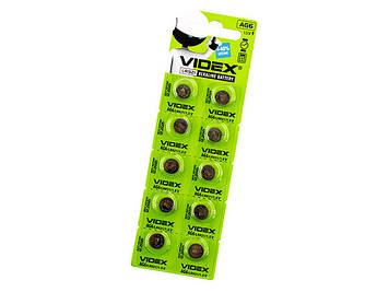 Батарейка Videx AG6/10bl(LR921)(2)(10)(100)