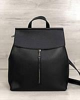 Молодежный сумка-рюкзак Welassie Фаби Черный (65-45104)