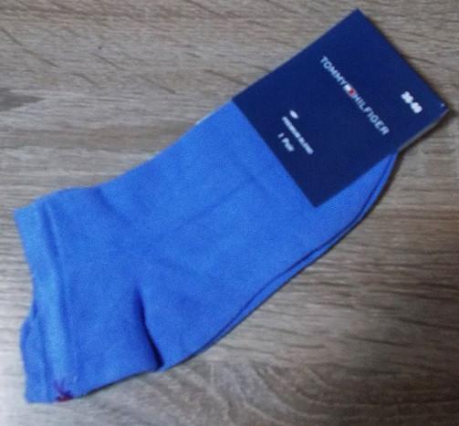 Носки женские короткие Турция хлопок размер 36-40 голубые