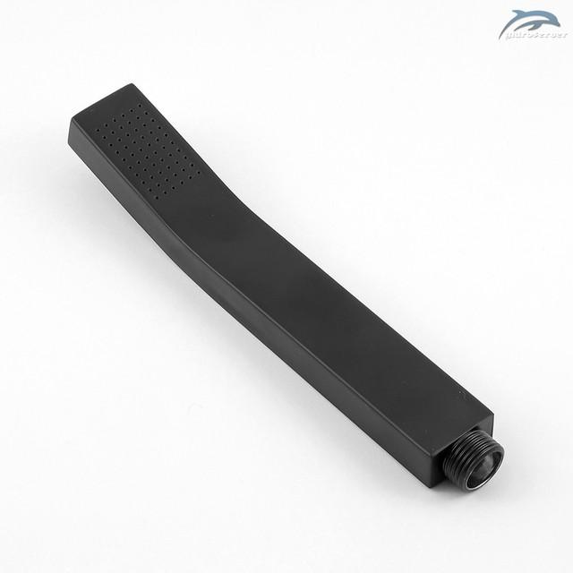 Лейка ручного душа для душевой системы WEMI SB-02 прямоугольной формы, выполнена из пищевой нержавеющей стали.