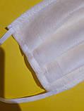 Одноразовые защитные трёхслойные маски для лица, фото 2