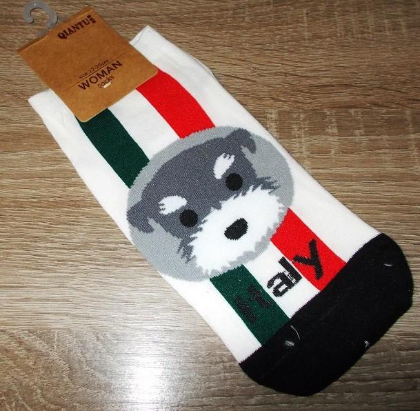 Носки короткие Qiantu размер 22-25 см