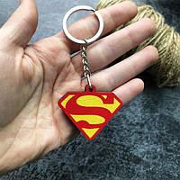 """""""Супермен знак (DC)"""" брелок деревянный с уф-печатью"""